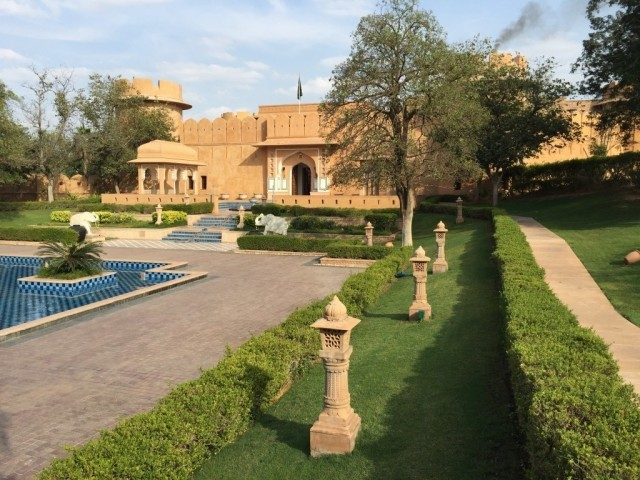 Cover photo of resource - The Oberoi Rajvilas