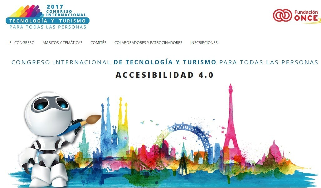 Cover photo of the event de Málaga acoge el Congreso Internacional de Tecnología y Turismo para todas las personas