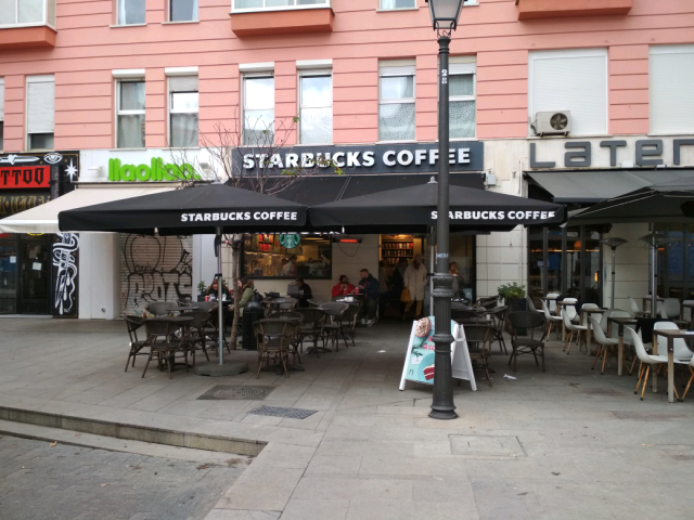 Cover photo of resource de Starbucks Coffee Fuencarral 43