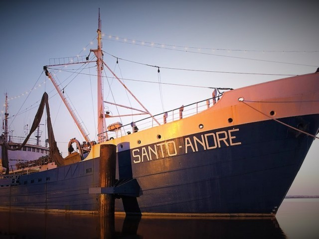 Cover photo of resource - Navio Museu Santo André