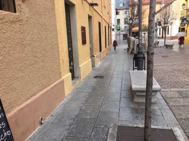 Photo/s of street outside of outside areas
