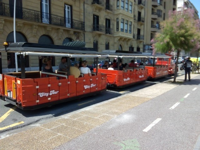 Cover photo of resource de Tren turístico - City Tour Donostia/San Sebastián