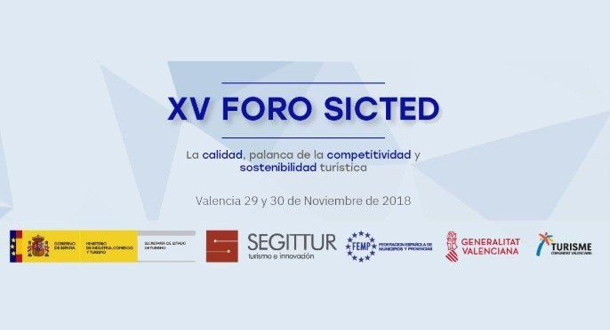 Cover photo of the event de XV Foro SICTED 2018: La calidad, palanca de la competitividad y sostenibilidad turística