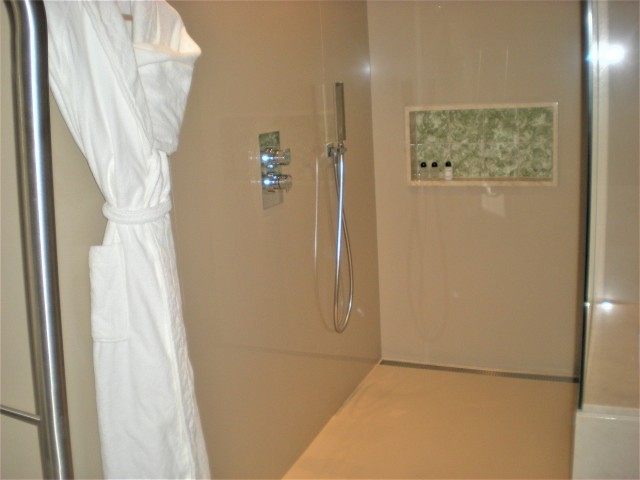 Photo/s of bathroom of adapted room