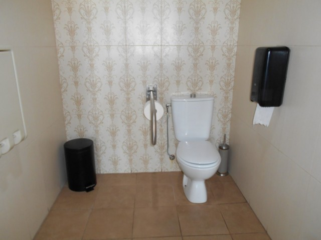 Photo/s of adapted toilet in common area - general information - multiple cubicles - characteristics - interior access