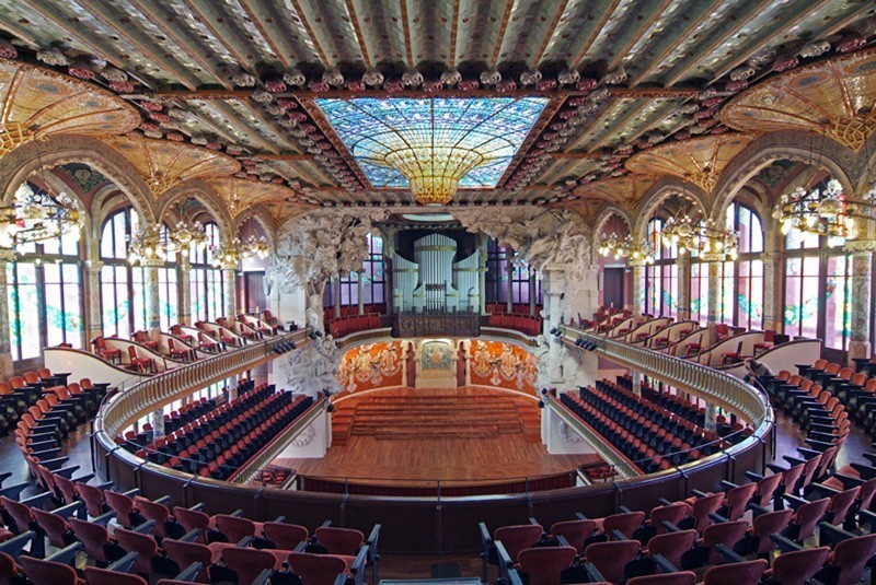 Cover photo of resource de Palau de la música catalana