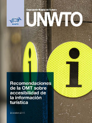 UNWTO recommendations on accessibility to tourist information