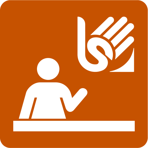 Staff with knowledge of Sign Language