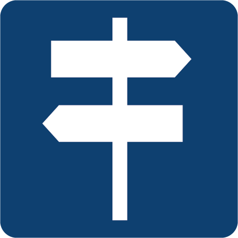 Visual signposting