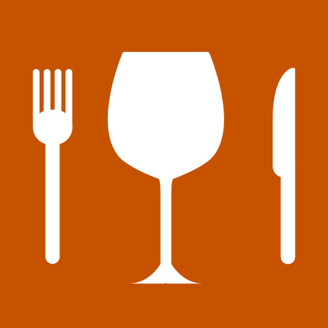 Pictogram Restaurants and bars