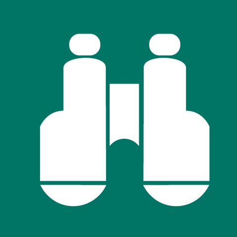 Pictogram Vantage / Lookout points