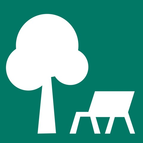 Pictogram Parks and gardens