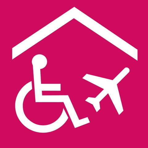 Pictogram Travel agencies specialising in accessible tourism