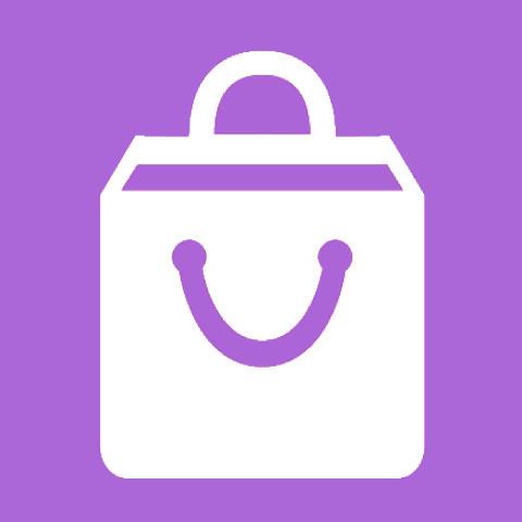 Pictogram Shopping centres
