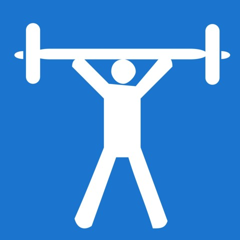 Pictogram Gyms