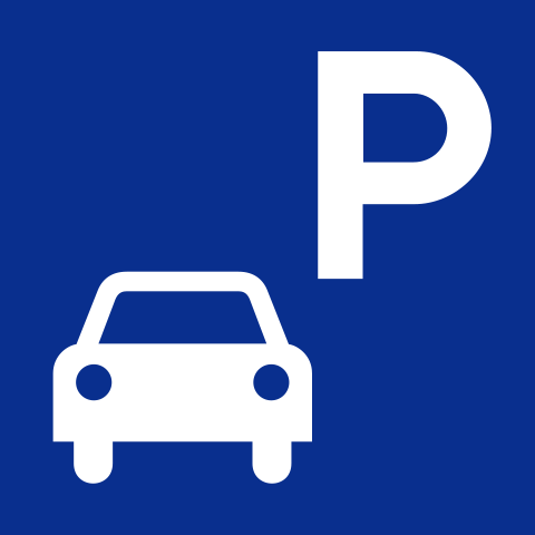 Pictogram Public parking