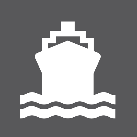 Pictogram Maritime transport
